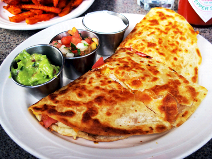 Chicken Quesadillas com Pepper Jack